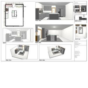 CAD kitchen design
