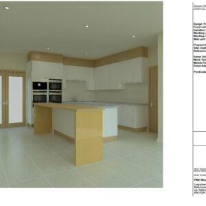 High detailed CAD kitchen design
